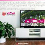 """Zondag 3 december zijn wij te zien in """"Op de camping"""" van SBS6!"""